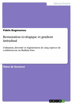 Restauration écologique et gradient latitudinal (eBook, PDF)