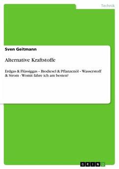 Alternative Kraftstoffe (eBook, PDF)