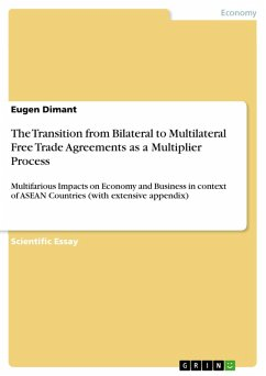 The Transition from Bilateral to Multilateral Free Trade Agreements as a Multiplier Process (eBook, PDF)