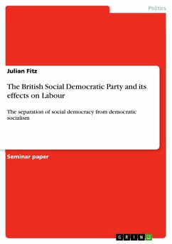 The British Social Democratic Party and its effects on Labour (eBook, PDF)
