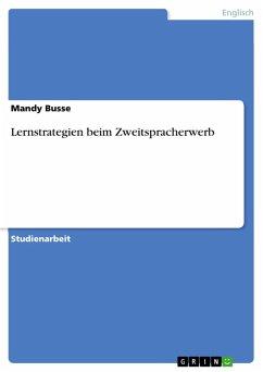 Lernstrategien beim Zweitspracherwerb (eBook, PDF)