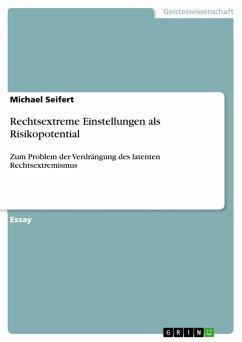 Rechtsextreme Einstellungen als Risikopotential (eBook, PDF)