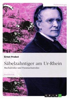 Säbelzahntiger am Ur-Rhein (eBook, PDF)