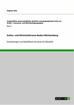 Kultur- und Wirtschaftsraum Baden-Württemberg (eBook, PDF)