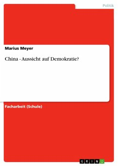 China - Aussicht auf Demokratie? (eBook, PDF)