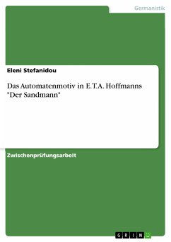 Das Automatenmotiv in E.T.A. Hoffmanns