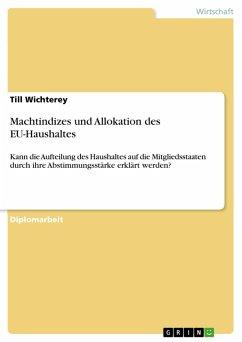 Machtindizes und Allokation des EU-Haushaltes (eBook, PDF)