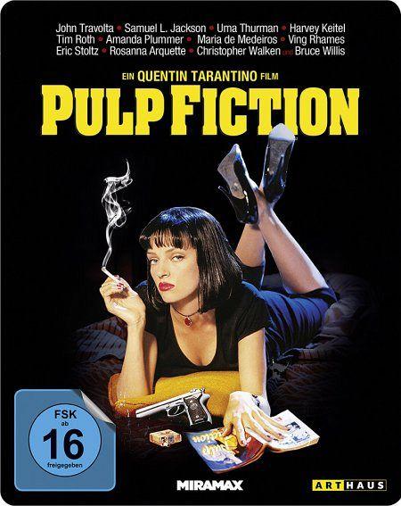 pulp fiction steel edition film auf blu ray disc. Black Bedroom Furniture Sets. Home Design Ideas