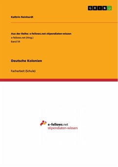 Deutsche Kolonien (eBook, PDF)
