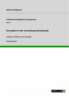 Korruption in der Verwaltung Deutschlands (eBook, PDF)