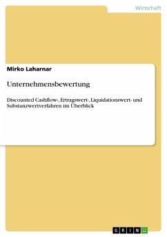 Unternehmensbewertung (eBook, PDF) - Laharnar, Mirko
