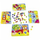 Goki 56705 - Farbwürfelspiel, Zuordnungsspiel