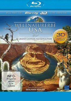 Weltnaturerbe USA - Grand Canyon Nationalpark (Blu-ray 3D) - N/A