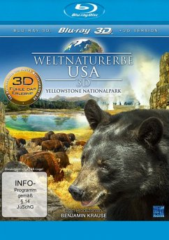 Weltnaturerbe USA - Yellowstone Nationalpark (Blu-ray 3D) - N/A