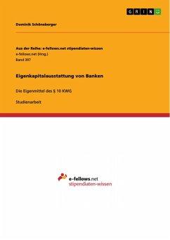 Eigenkapitalausstattung von Banken (eBook, PDF)