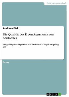 Die Qualität des Ergon-Arguments von Aristoteles (eBook, PDF)