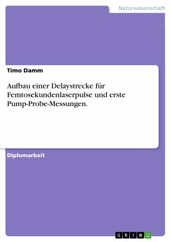 Aufbau einer Delaystrecke für Femtosekundenlaserpulse und erste Pump-Probe-Messungen. (eBook, PDF)
