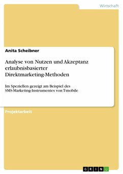 Analyse von Nutzen und Akzeptanz erlaubnisbasierter Direktmarketing-Methoden (eBook, PDF)