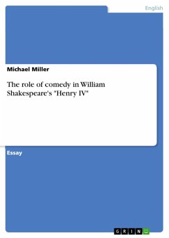 The role of comedy in William Shakespeare's