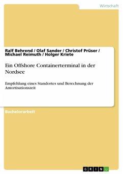 Ein Offshore Containerterminal in der Nordsee (eBook, PDF)