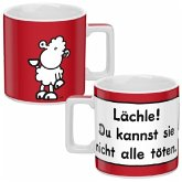 "Wortheld Tasse ""Lächle"""