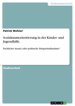 Sozialraumorientierung in der Kinder- und Jugendhilfe. (eBook, PDF) - Wehner, Patrick