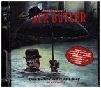 Der Butler setzt auf Sieg, 2 Audio-CDs