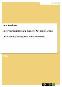 Environmental Management & Cruise Ships (eBook, PDF)