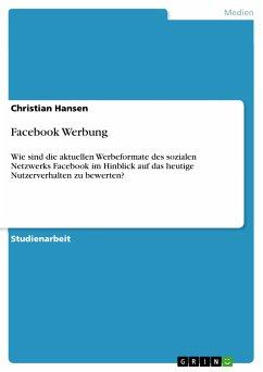 Facebook Werbung (eBook, PDF)