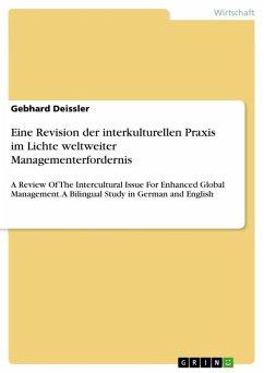 Eine Revision der interkulturellen Praxis im Lichte weltweiter Managementerfordernis (eBook, ePUB)
