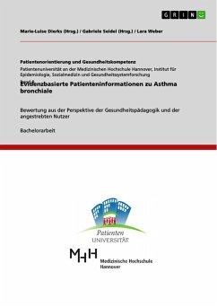 Evidenzbasierte Patienteninformationen zu Asthma bronchiale (eBook, PDF)