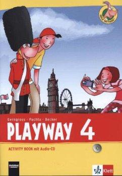 Playway ab Klasse 3. 4.Schuljahr. Activity Book mit Audio-CD . Ausgabe 2013
