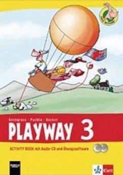 Playway ab Klasse 3. 3.Schuljahr. Activity Book mit Audio-CD und CD-ROM . Ausgabe 2013