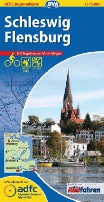 ADFC Regionalkarte Schleswig, Flensburg