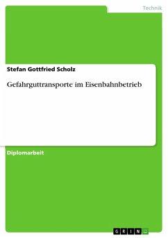 Gefahrguttransporte im Eisenbahnbetrieb (eBook, PDF)