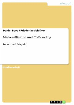 Markenallianzen und Co-Branding (eBook, PDF)