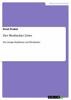 Der Mosbacher Löwe (eBook, PDF)