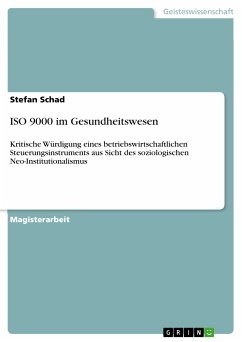 ISO 9000 im Gesundheitswesen (eBook, PDF)