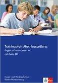 Red Line New - Trainingshefte. Abschlussprüfung Englisch mit CD-ROM 9./10. Klasse. Hauptschule/ Werkrealschule Baden-Württemberg