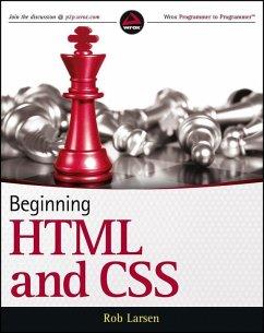 Beginning HTML and CSS (eBook, PDF) - Larsen, Rob