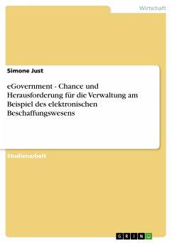 eGovernment - Chance und Herausforderung für die Verwaltung am Beispiel des elektronischen Beschaffungswesens (eBook, PDF)