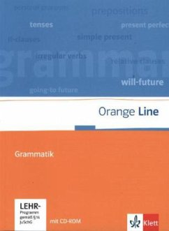 Orange Line. Grammatik mit CD-ROM