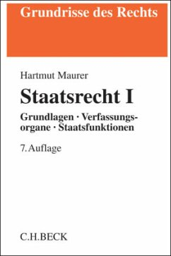 Staatsrecht I - Maurer, Hartmut