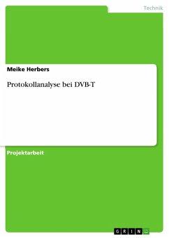 Protokollanalyse bei DVB-T (eBook, PDF)