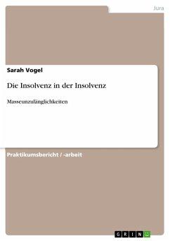 Die Insolvenz in der Insolvenz (eBook, PDF)