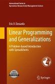 Linear Programming and Generalizations (eBook, PDF)