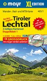 Mayr Karte Ferienregion Tiroler Lechtal, 2 Blätter