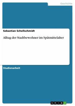 Alltag der Stadtbewohner im Spätmittelalter (eBook, PDF)