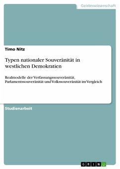 Typen nationaler Souveränität in westlichen Demokratien (eBook, PDF)