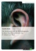 Die Sachebene und die Beziehungsseite in dem 'Vier-Ohren-Modell' von F. Schulz von Thun (eBook, PDF)